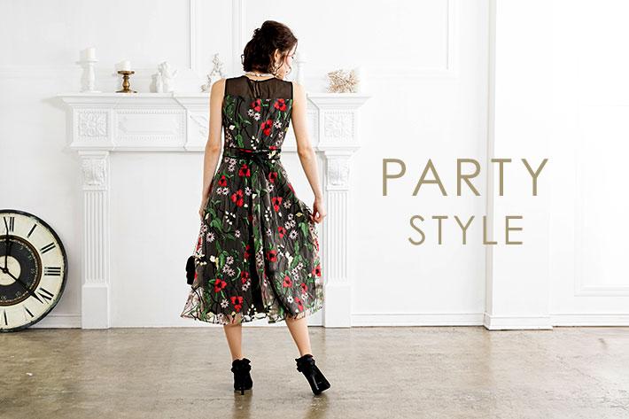 prose verse 【Party Style】オススメ!映えワンピースドレス