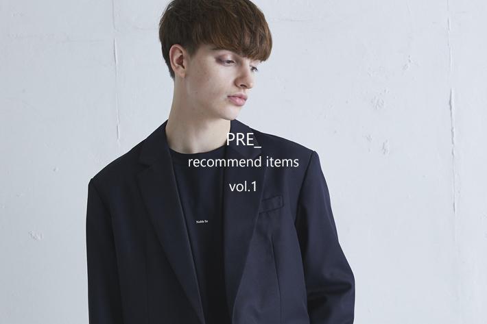 Lui's PRE_ recommend items vol.1