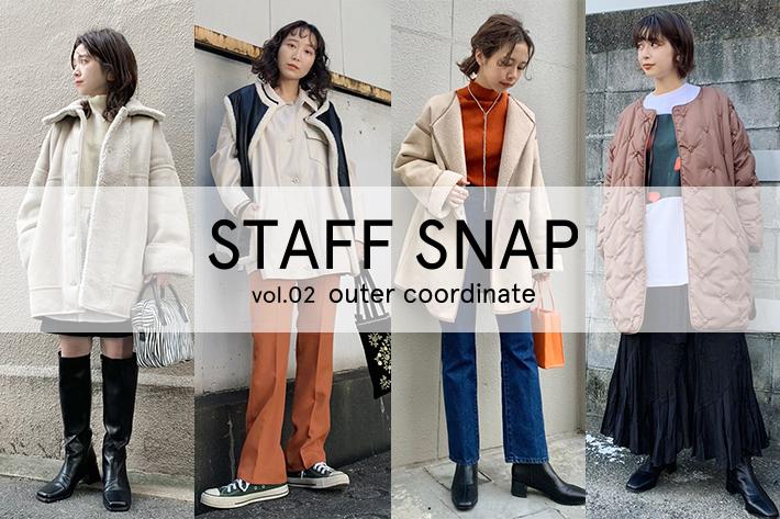 Kastane STAFF SNAP vol.2  ー outer coordinate ー