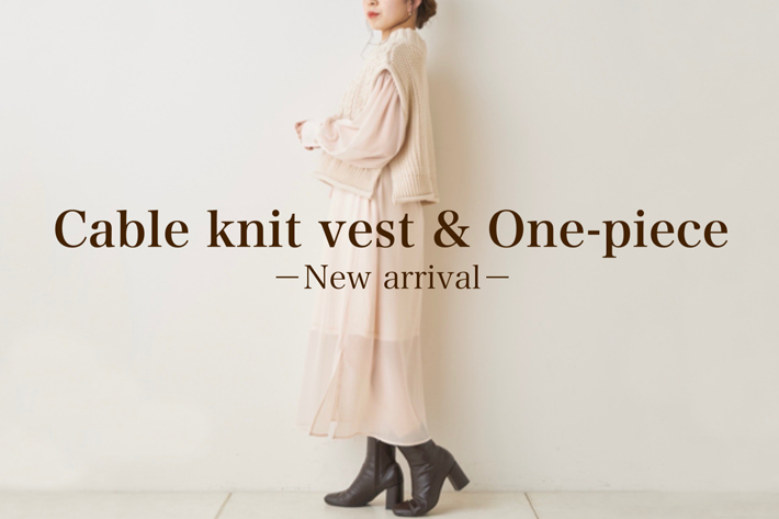 who's who Chico 【NEW ARRIVAL】1枚で今年らしさと大人っぽさを取り入れられるワンピース