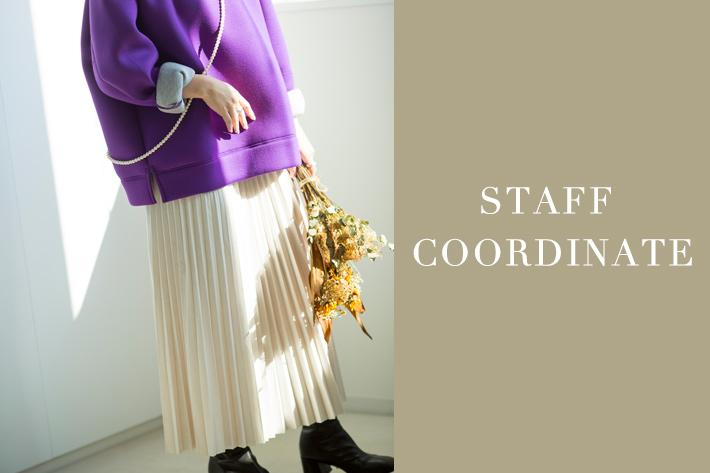 mona Belinda お買い得商品と【STAFF COORDINATE 】