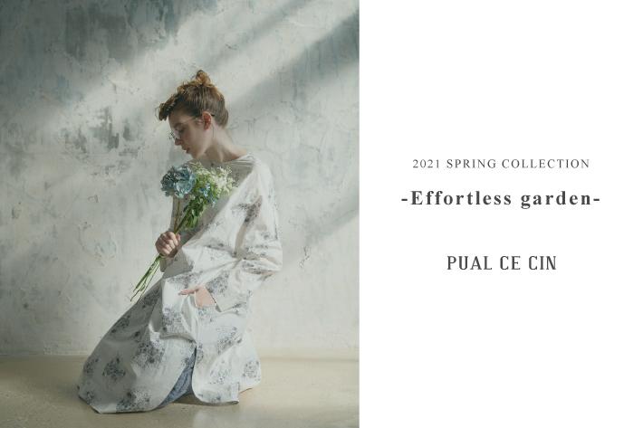 """pual ce cin 2021 Spring collection """"Effortless garden """""""