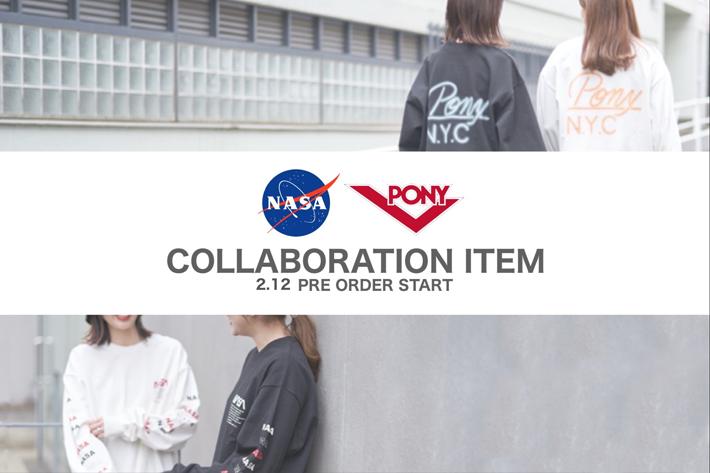 who's who Chico 【PRE ORDER】NASA PONY コラボアイテム予約販売START