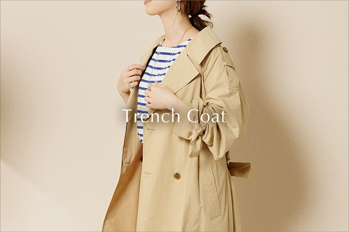 SHENERY Trench Coat