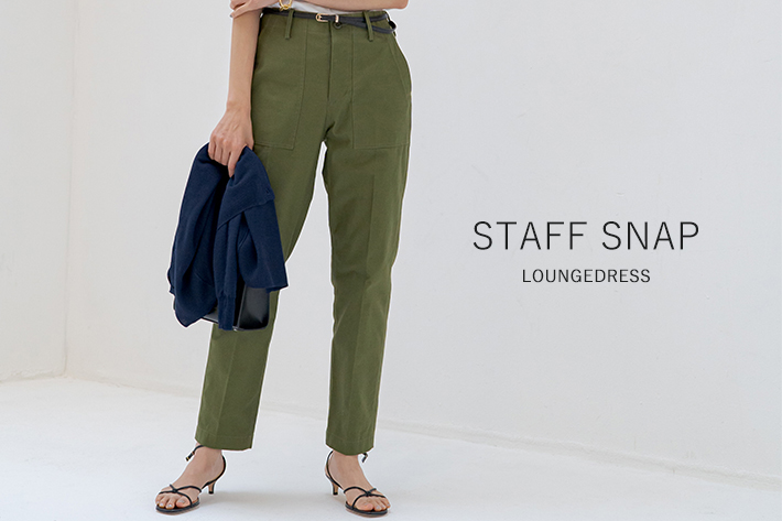 STAFF SNAP vol.6 人気アイテムをMIXした旬顔SNAP!