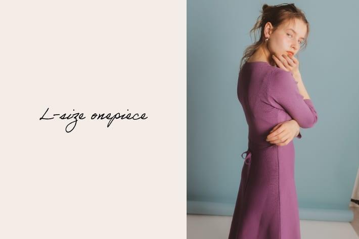 natural couture 高身長でもトレンド丈で着れる!人気ワンピースシリーズ♪