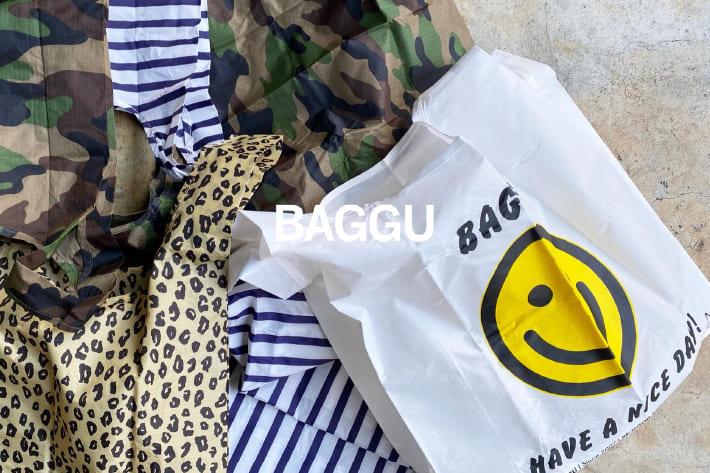 DOUDOU 『BAGGU』/目を惹く!いくつも欲しくなるマイバッグ