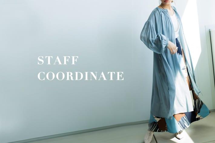 "mona Belinda オススメ商品と""Staff Coordinate"""