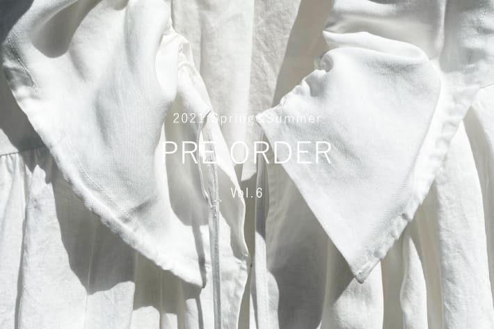 DOUDOU PRE ORDER START/DOUDOU 2021SS COLLECTION vol.6