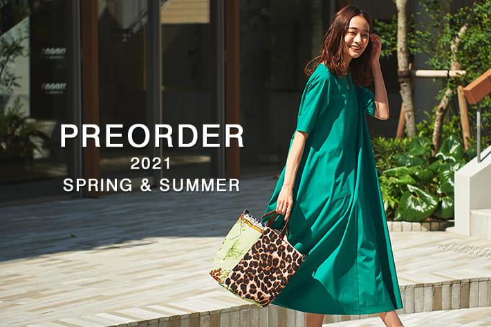 La boutique BonBon 【オンライン先行予約】夏に向けて準備したいカラーワンピースやロゴTシャツが登場