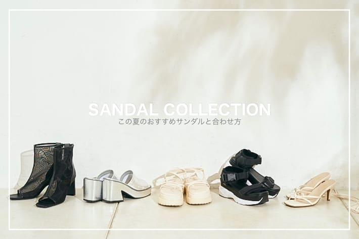 who's who Chico 【PICK UP】SANDAL COLLECTION 2021
