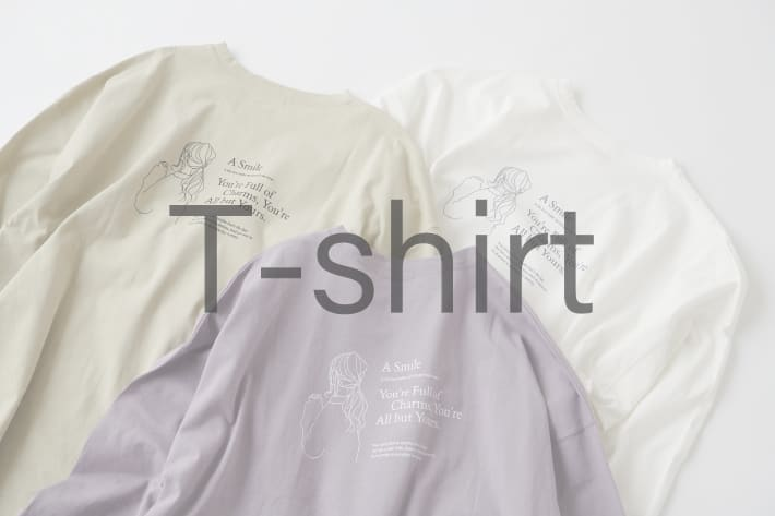NICE CLAUP OUTLET 【T-shirt collection】