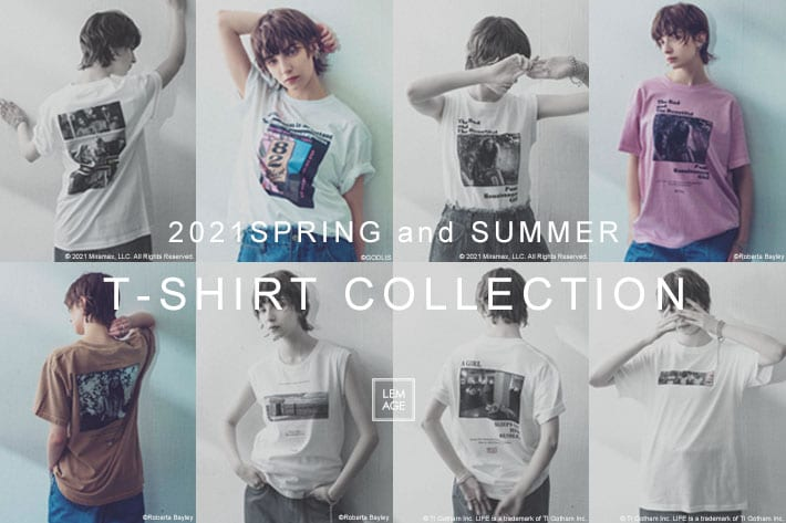 CAPRICIEUX LE'MAGE 2021SS T-SHIRT COLLECTION