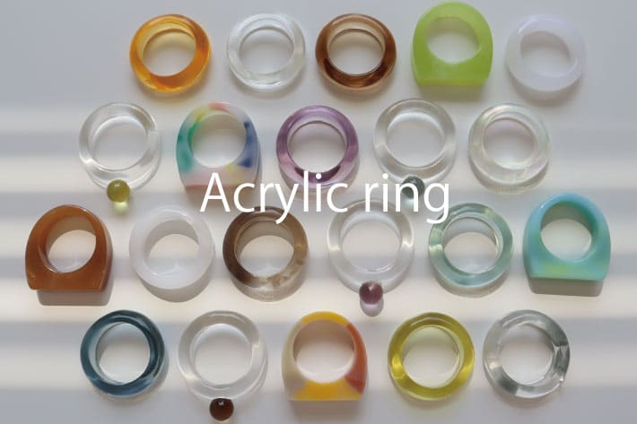 Lattice Acrylic ring