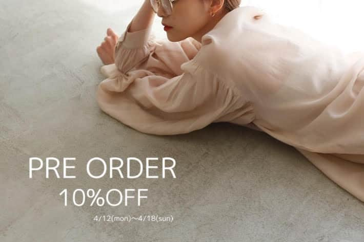 one after another NICE CLAUP 【期間限定】予約アイテム10%OFFキャンペーン