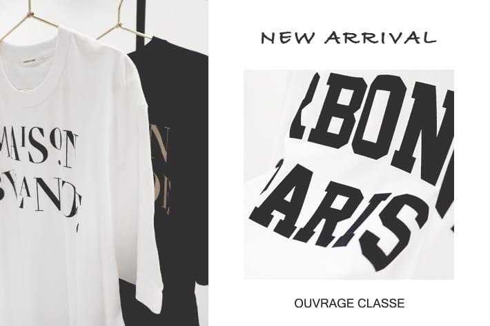 OUVRAGE CLASSE ロゴプリントビックTシャツ★★★