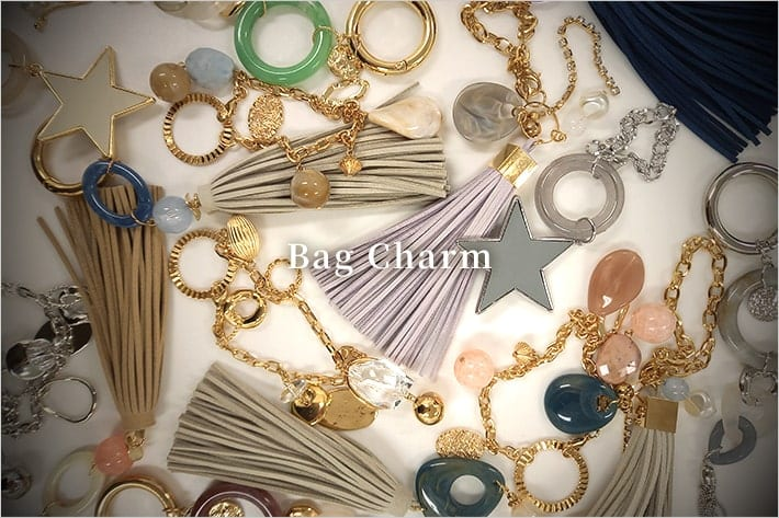 Pal collection Bag Charm 《私だけのときめくバッグアクセサリー》