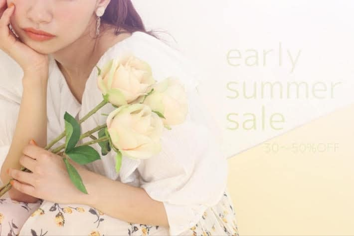 one after another NICE CLAUP 【MAX50%off】early summer sale!!