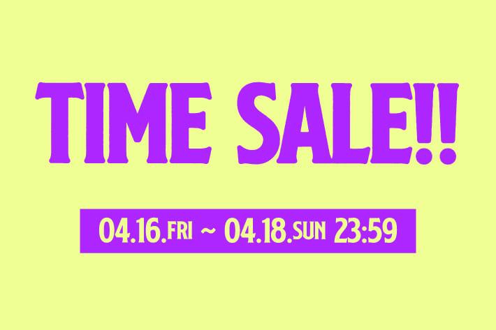 RASVOA TIME SALE開催!!