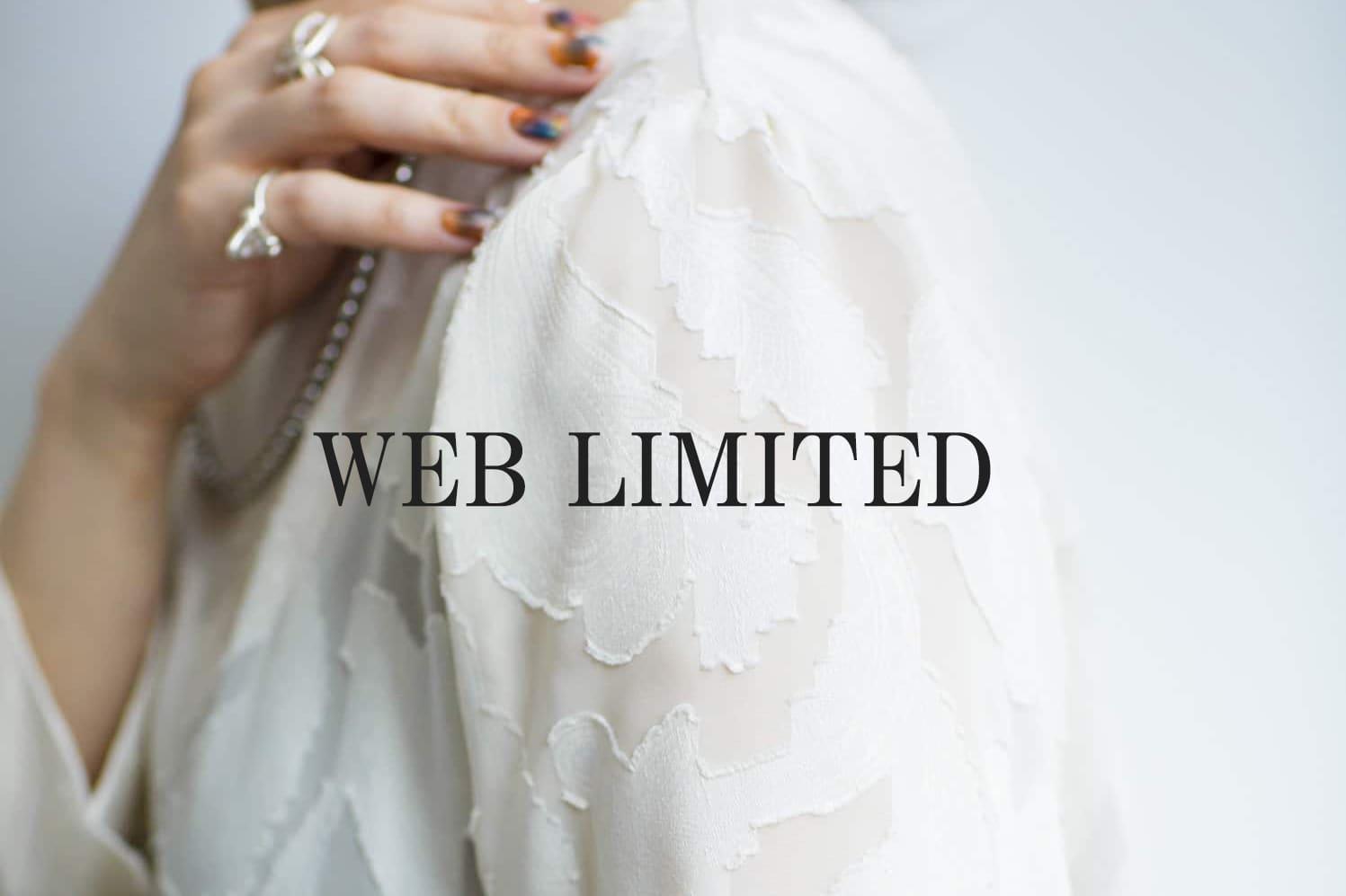 "mona Belinda ""Web Limited""オトナの抜け感を引き出すシアーシャツ。"