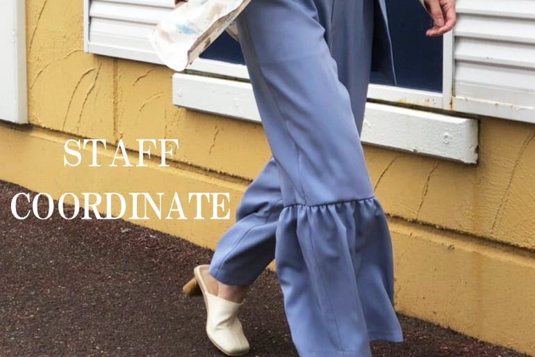 "mona Belinda ""Staff Coordinate""と人気アイテム!"