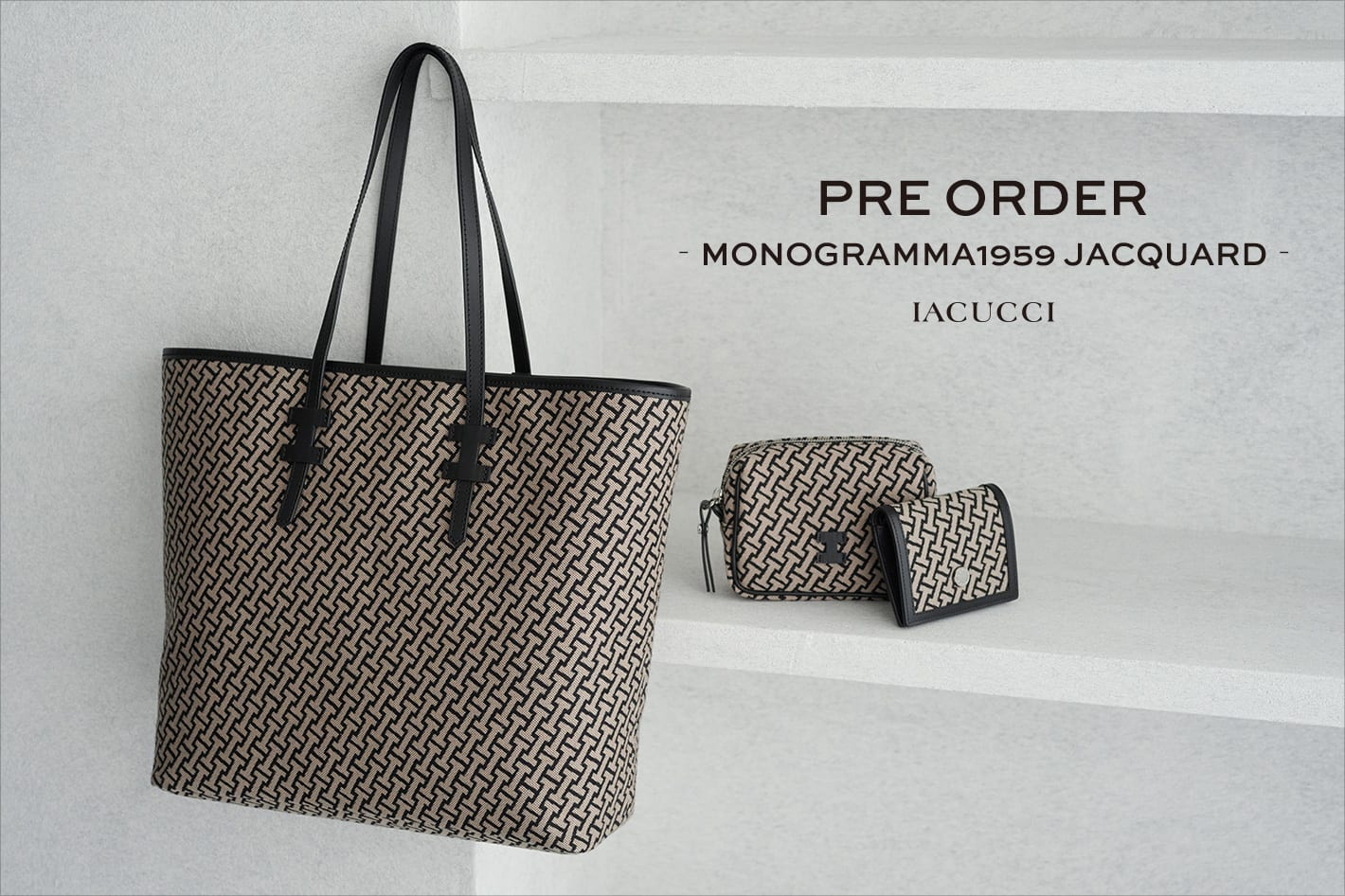 IACUCCI 〈PRE ORDER〉MONOGRAMMA1959シリーズに新型が登場!
