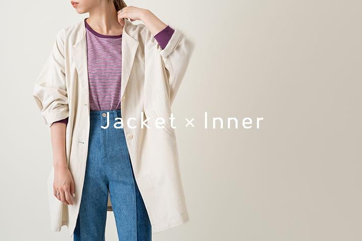 Kastane jacket × inner