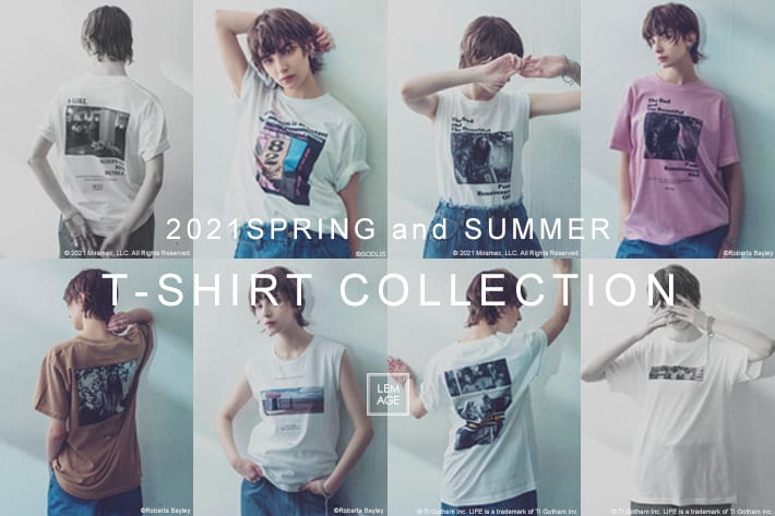 CAPRICIEUX LE'MAGE 2021SS T-SHIRT COLLECTION vol.2