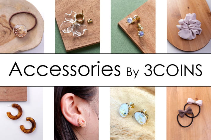3COINS 【NEW】Accessories by 3COINS