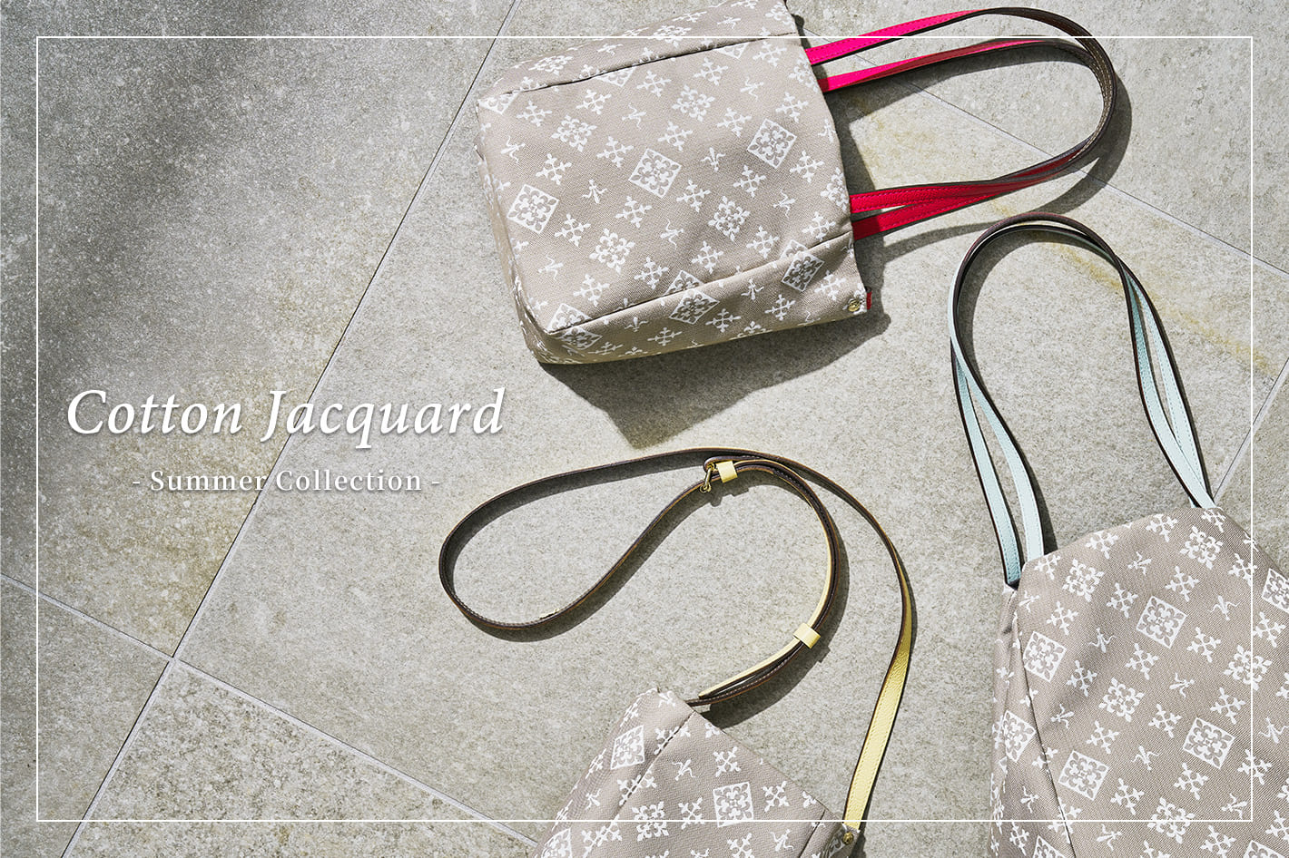 russet Cotton Jacquard -Summer Collection-
