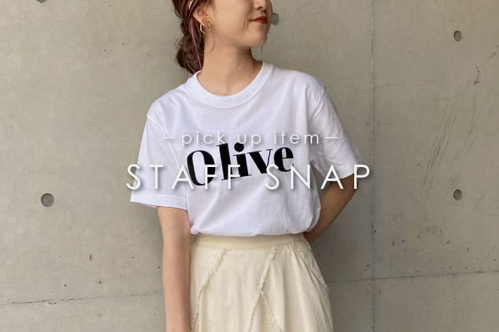 CAPRICIEUX LE'MAGE 【STAFF SNAP#9】この夏おすすめのTシャツをPICK UP!