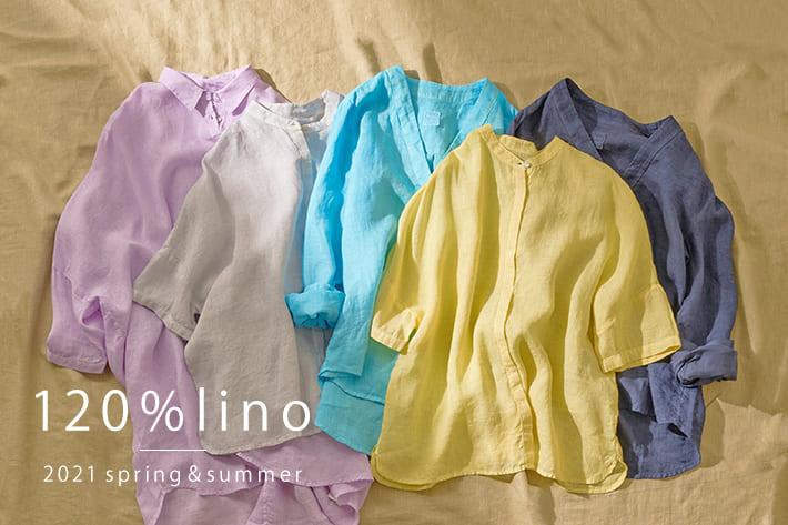 LIVETART 【120%lino】人気のリネンシャツに新しいデザインが追加入荷しました!!