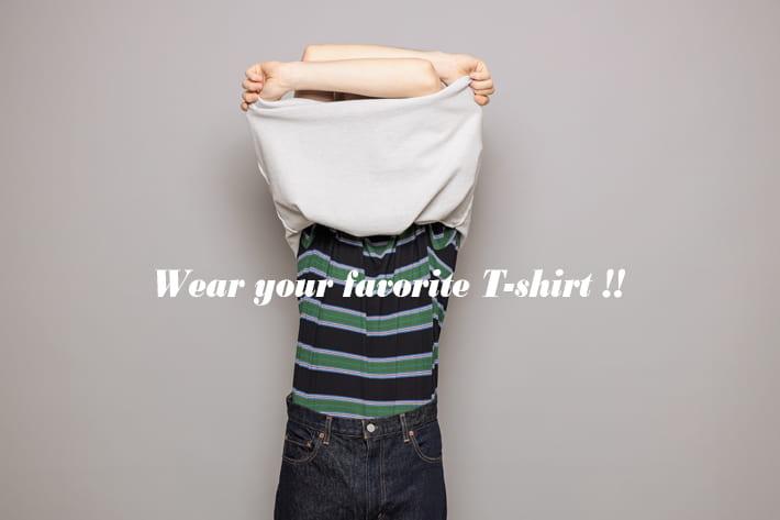 CIAOPANIC MENS |  お気に入りのTシャツを着よう!~Wear your favorite T-shirt !!~