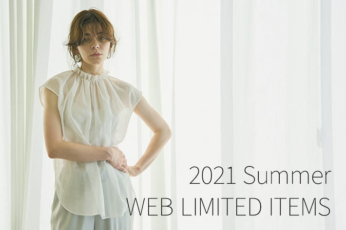 Whim Gazette(ウィムガゼット)公式通販サイト_2021 Summer WEB LIMITED ITEMS