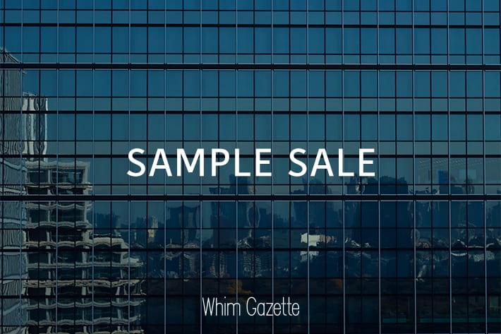 Whim Gazette 【青山店】SAMPLE SALE開催のお知らせ