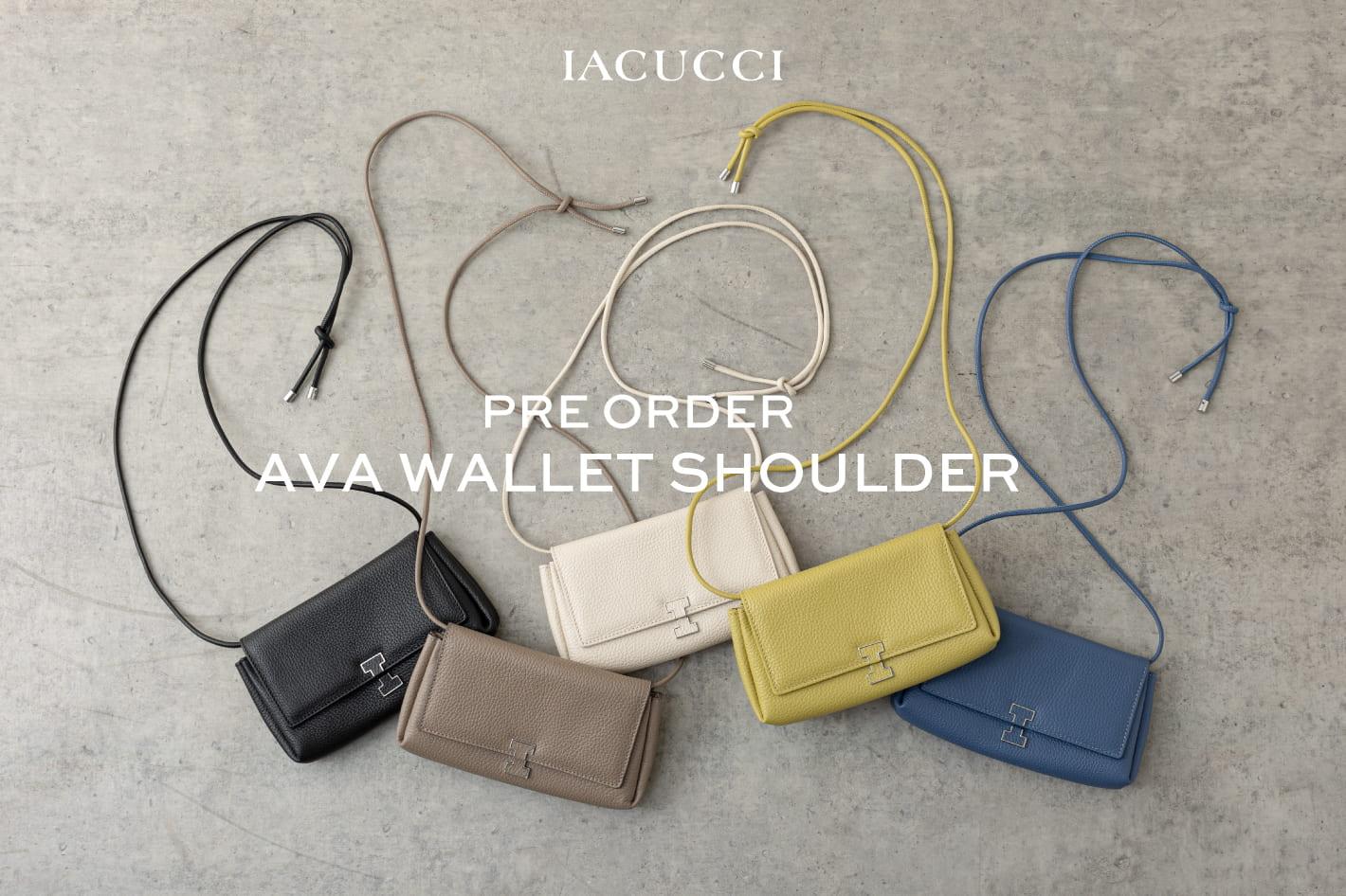 IACUCCI ≪PRE ORDER≫AVA-wallet shoulder- debut!