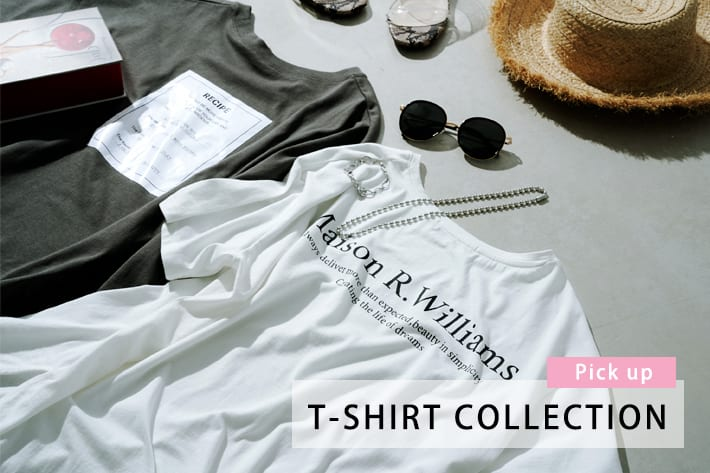 prose verse 【pick up】T-SHIRT COLLECTION