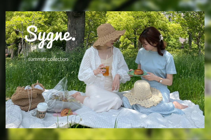 one after another NICE CLAUP 【Sygne.】summer collection 先行予約開始