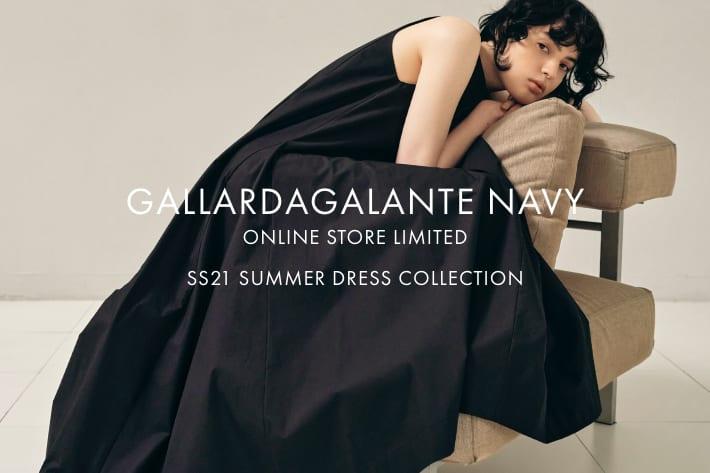 GALLARDAGALANTE 「GALLARDAGALANTE NAVY」SS21 SUMMER DRESS COLLECTION