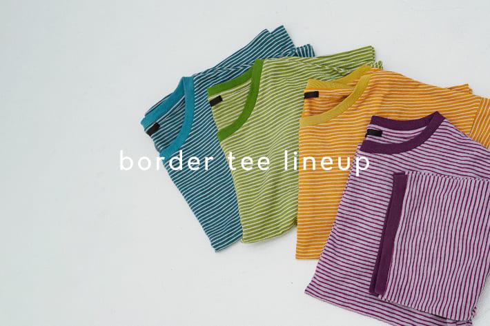 Kastane border tee lineup