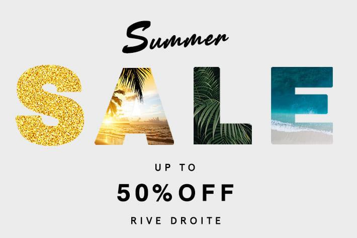 RIVE DROITE 【本日より】SUMMER SALE スタート!