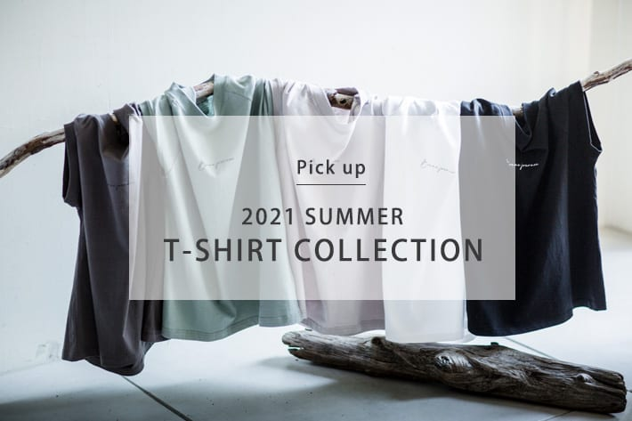 prose verse 【pick up】2021 SUMMER!T-SHIRT COLLECTION