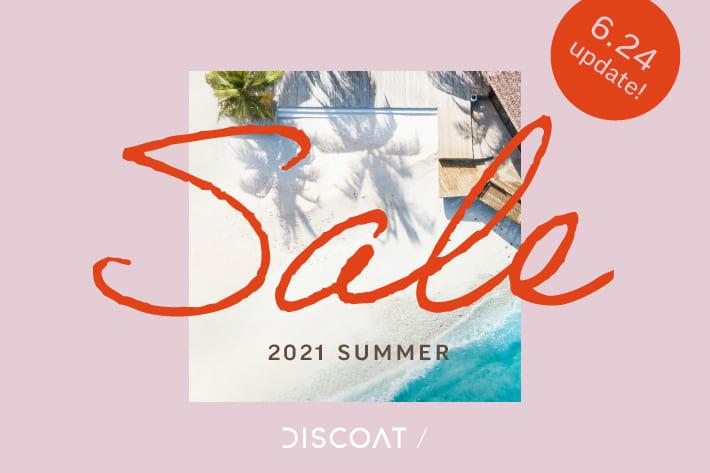 Discoat ≪6/24update!≫ SUMMER SALE開催中★