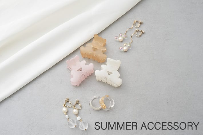 NICE CLAUP OUTLET 【Summer Accessory】
