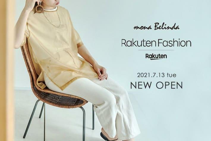 "mona Belinda ""Rakuten Fashion""NEW OPEN!"