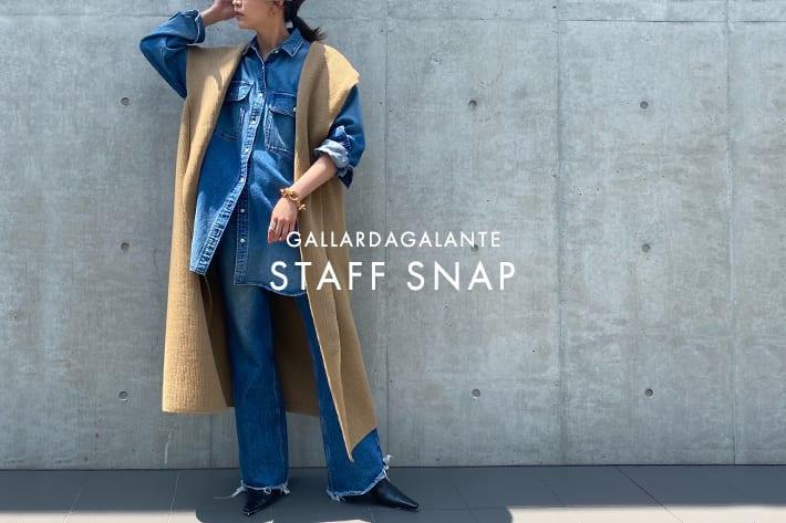 GALLARDAGALANTE STAFF SNAP #62|新作予約アイテムで秋の本命をチェック✔