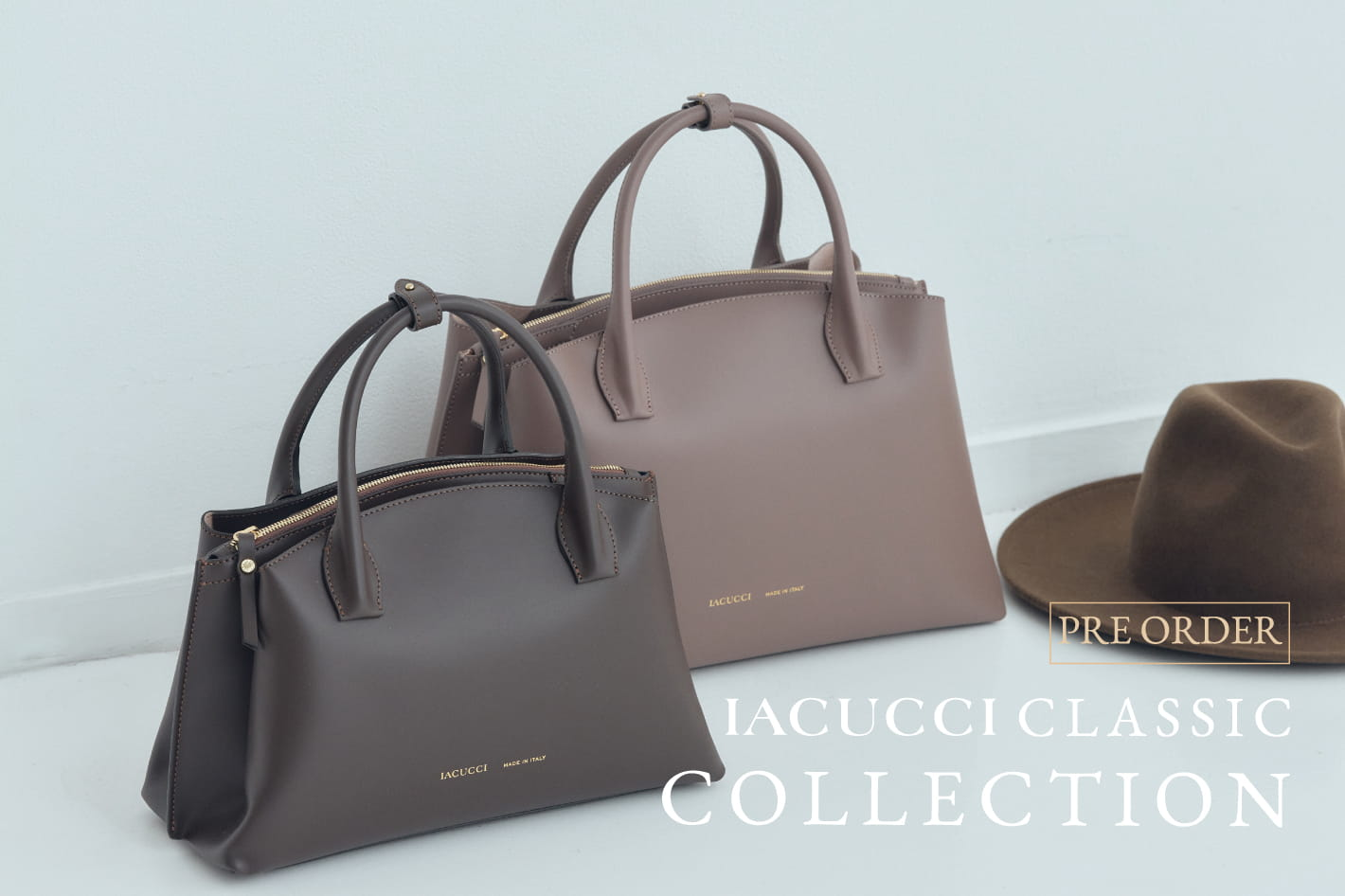 IACUCCI ≪PRE ORDER≫CLASSIC COLLECTION debut!