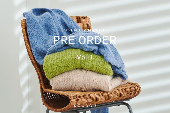 DOUDOU DOUDOU PRE ORDER START!21aw collection