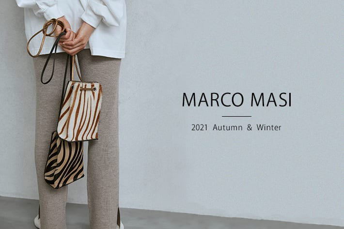LIVETART 【MARCO MASI】季節の変わり目にはまずは小物から