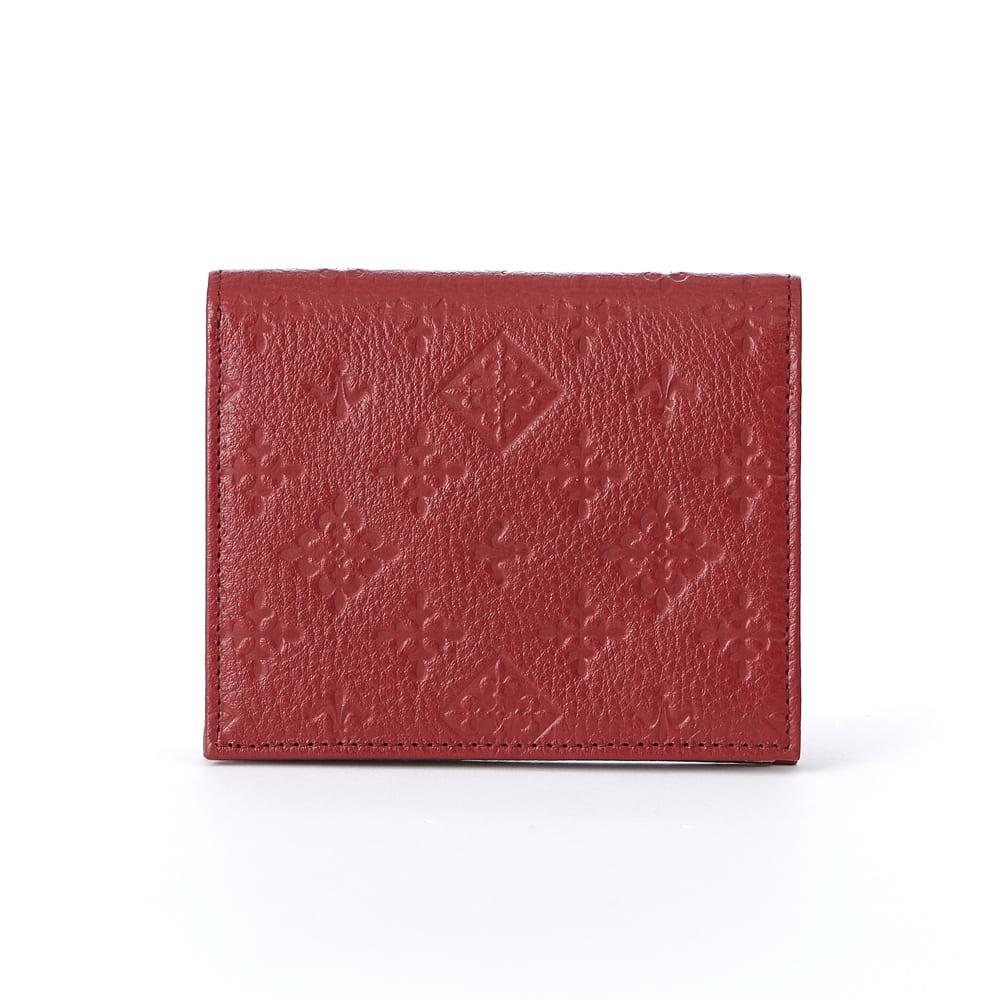 折財布【モノグラムプレスレザー】